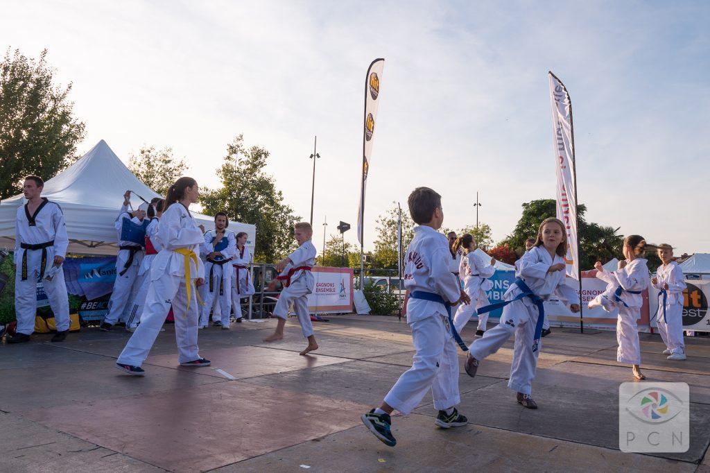 Comité départemental Olympique et sportif de Loire atlantique, CDOS 44, Sentez vous Sport, démonstration